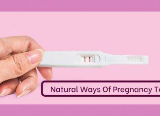 natural pregnancy test
