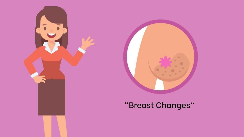Breast Changes Pregnancy signs